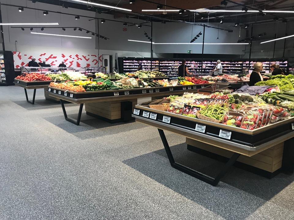 Mobilier fruits et légumes magasin