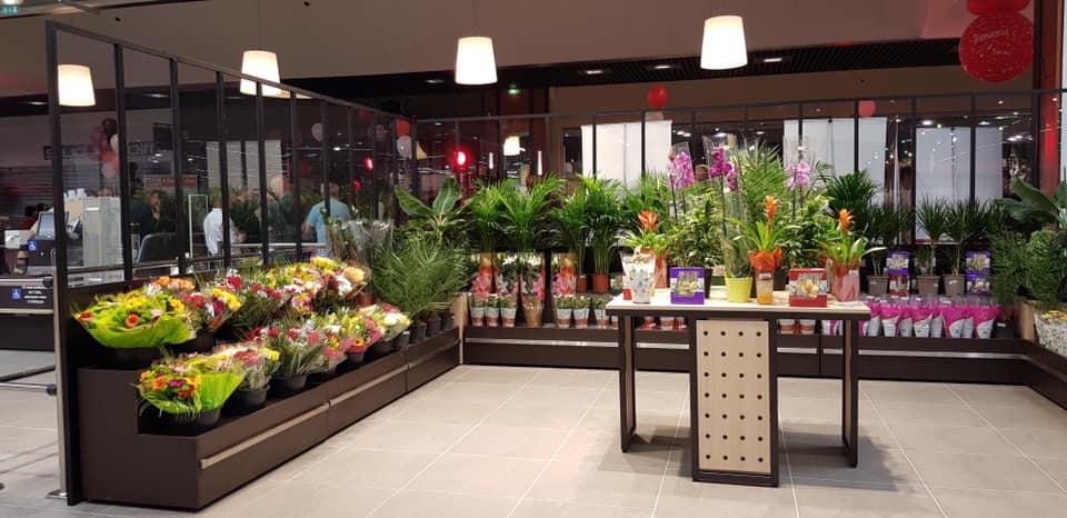Mobilier fleur meuble florale