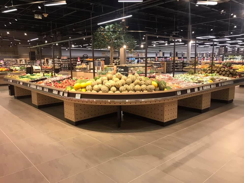 Mobilier fruits et légumes